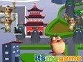 Igra Monsters vs Aliens Tower obrane . Igrajte online